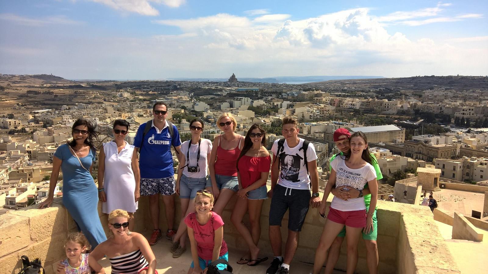 Málta nyelvtanulás- Málta a legbiztonságosabb célpont angol nyelvtanuláshoz.